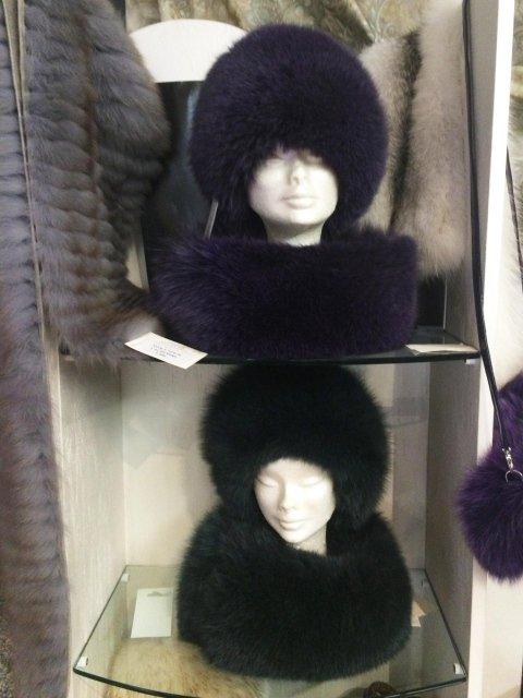 Colli e cappelli in volpe