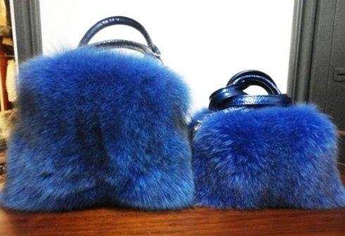 borse volpe blu elettra