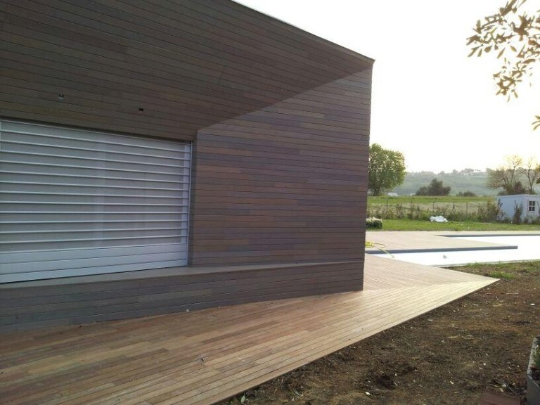pedana esterna in legno
