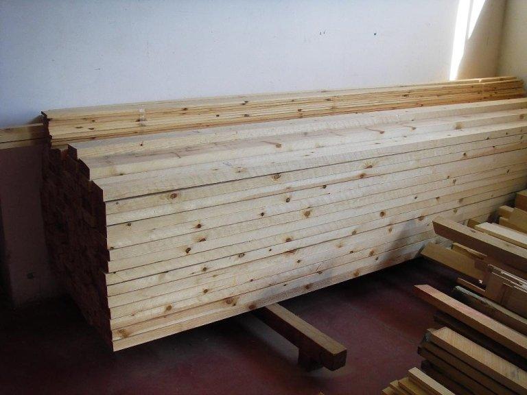 listoni di legno