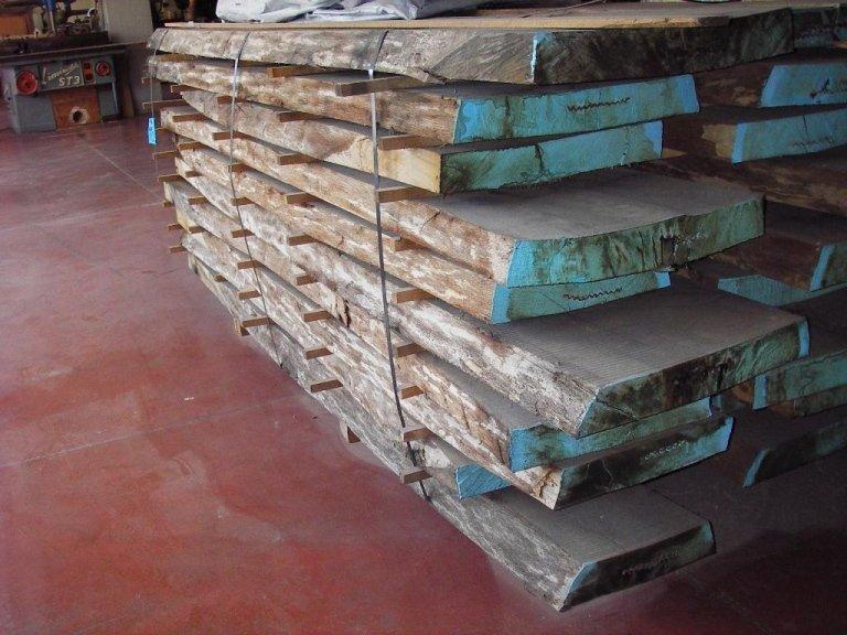 battiscopa di legno
