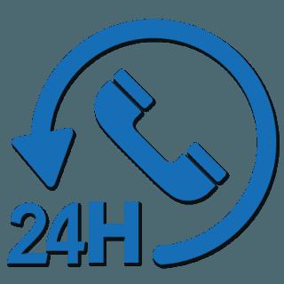 reperibilità 24 ore su 24