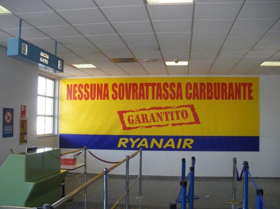 gigantografie negli aeroporti