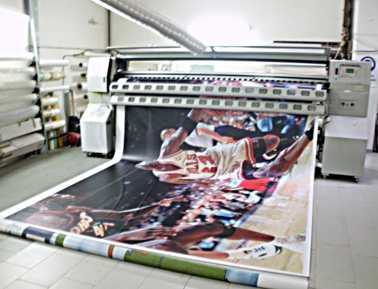 stampa gigantografie in pvc