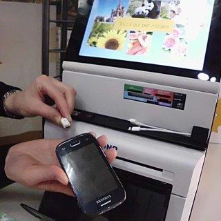 stampa di foto digitali da cellulari