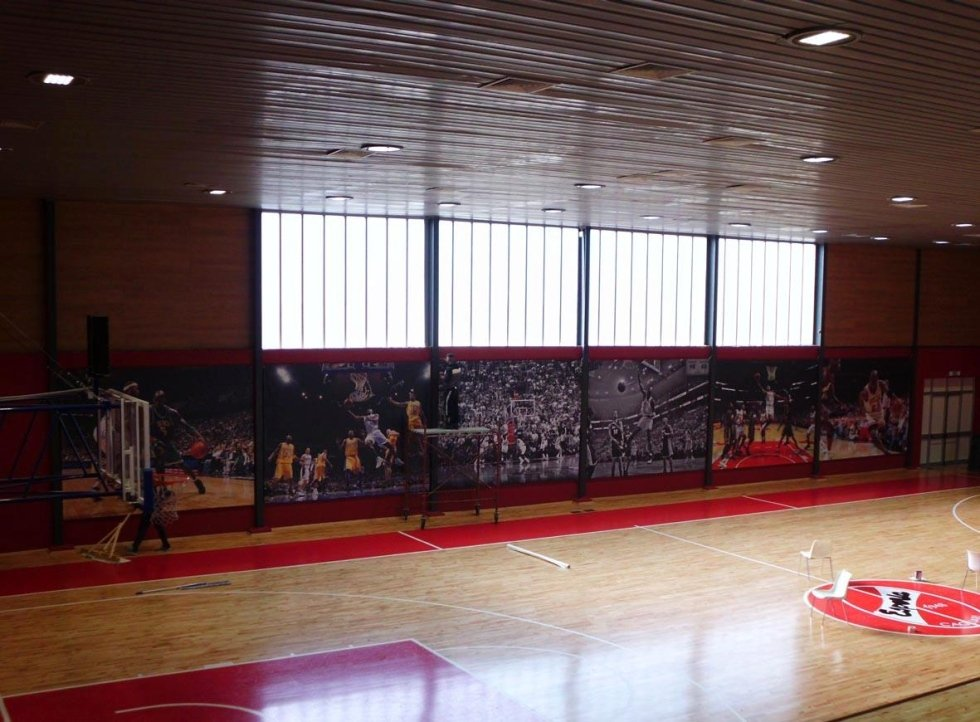banner in pvc per eventi sportivi