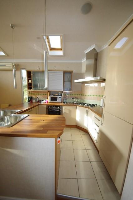 kitchen inside Lissett Halycon Lodge