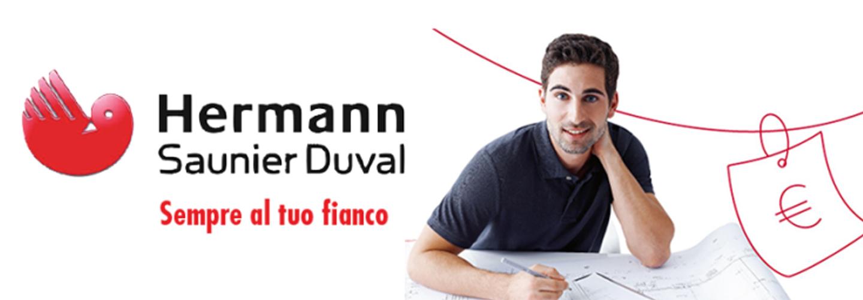 pubblicita HERMANN  SAUNIER DUVAL