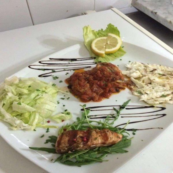 pesce e aceto balsamico