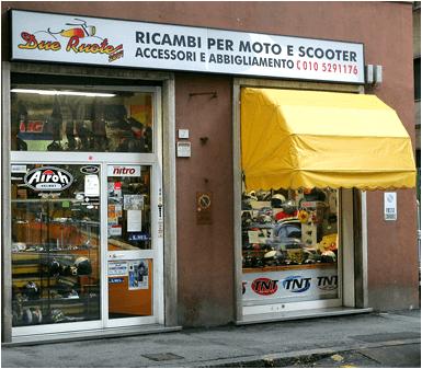 Ricambi moto Genova Due ruote