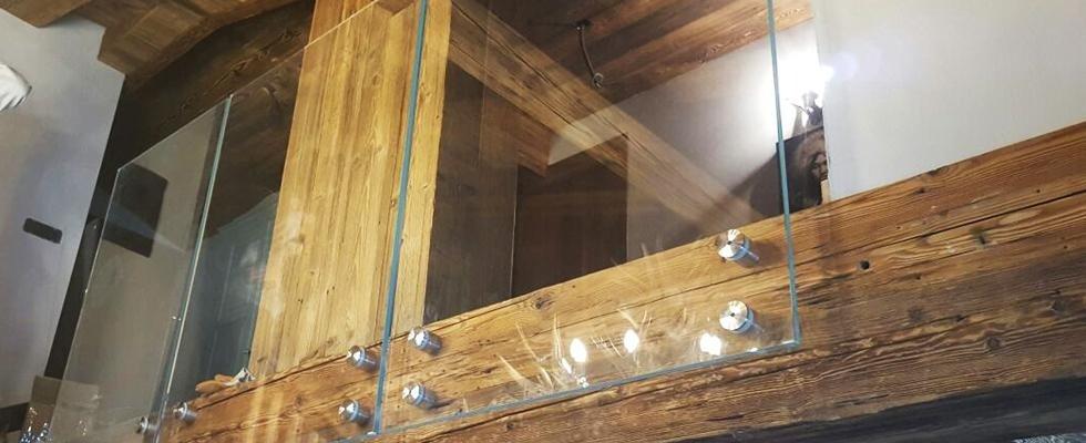 pareti in vetro