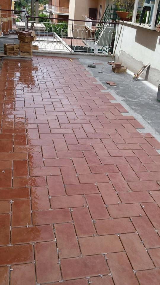 rivestimento pavimenti esterni