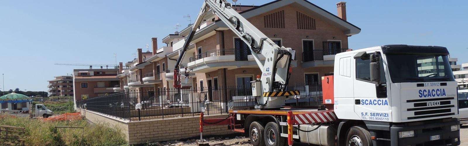 gru per lavori edili