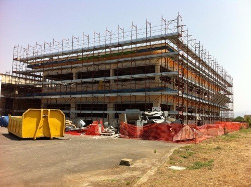 cantiere centro commerciale