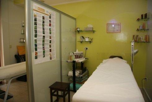 Sala trattamenti estetici