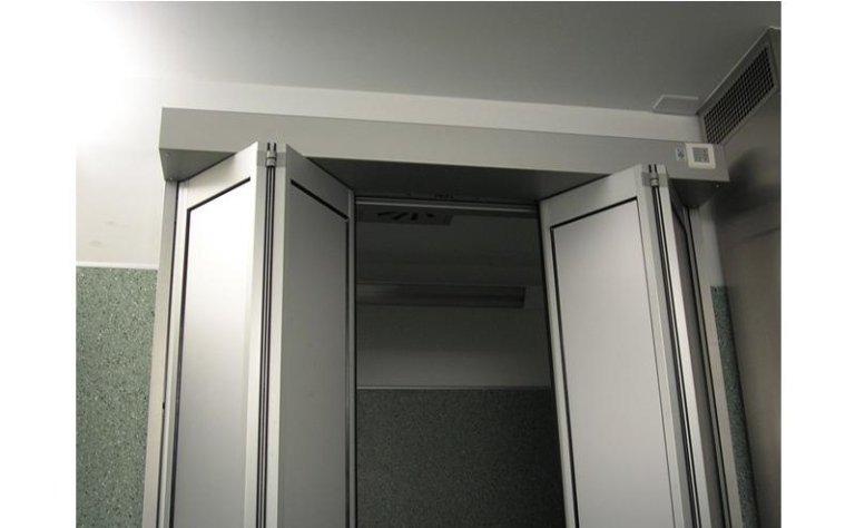 porta automatica a doppia apertura pieghevole 5
