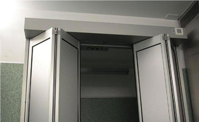 porta automatica a doppia apertura pieghevole 6