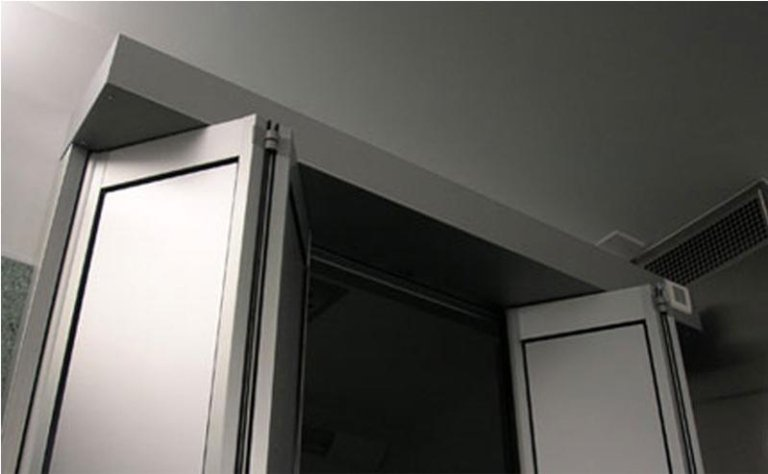 porta automatica a doppia apertura pieghevole 8