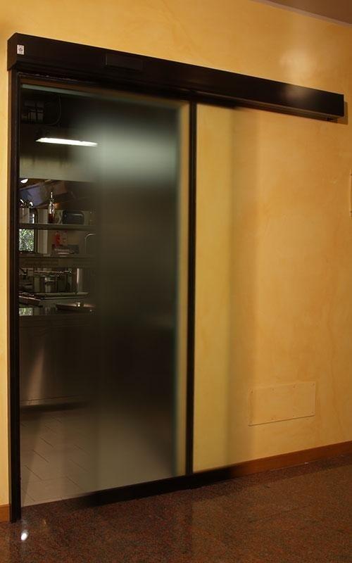 porta scorrevole per salal interna