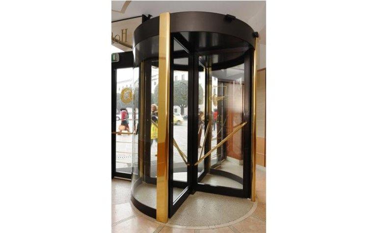 porta girevole automatica 12