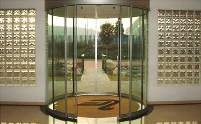 porta girevole automatica 2