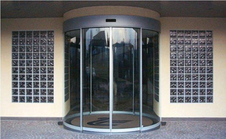 porta girevole automatica 4
