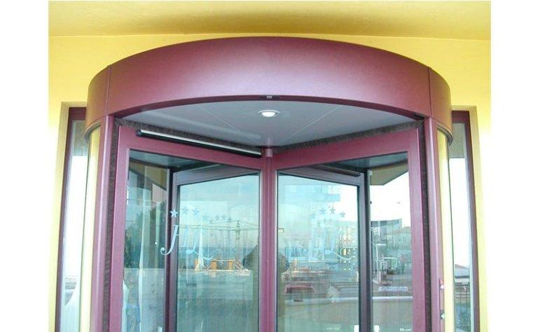 porta girevole automatica 7