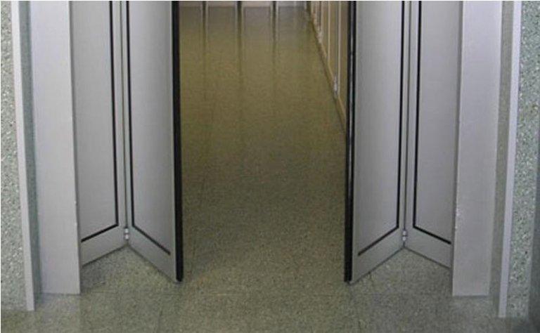 porta automatica a doppia apertura pieghevole 1