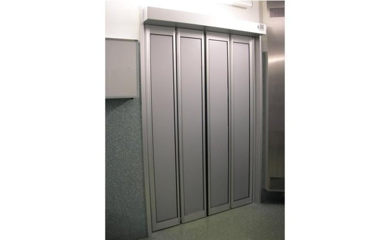 porta automatica a doppia apertura pieghevole 2