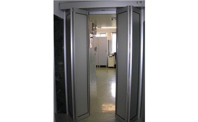porta automatica a doppia apertura pieghevole 4