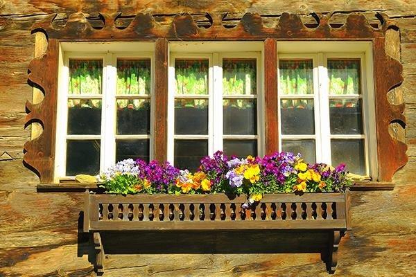 balcone rustico