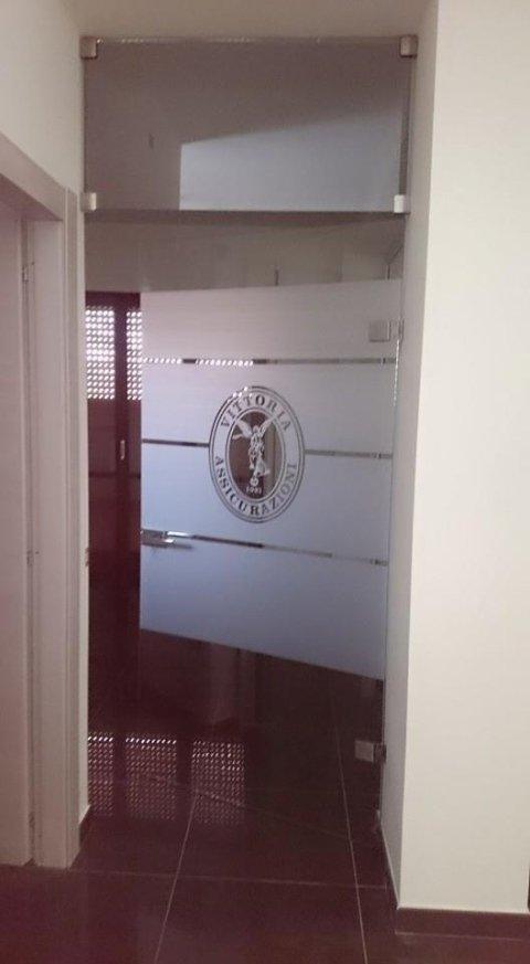 porte in vetro per uffici