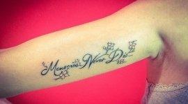 Tattoo scritte
