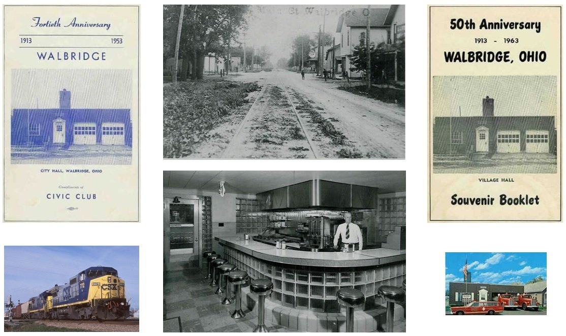 Photo history of Walbridge Ohio
