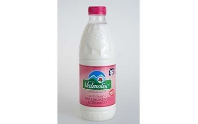 Produzione latte fresco Parzialmente Scremato