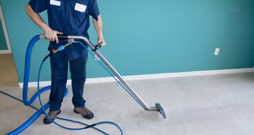 Expert providing professional carpet cleaning in Lincoln, NE