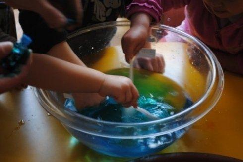 Giocare con i colori alimentari