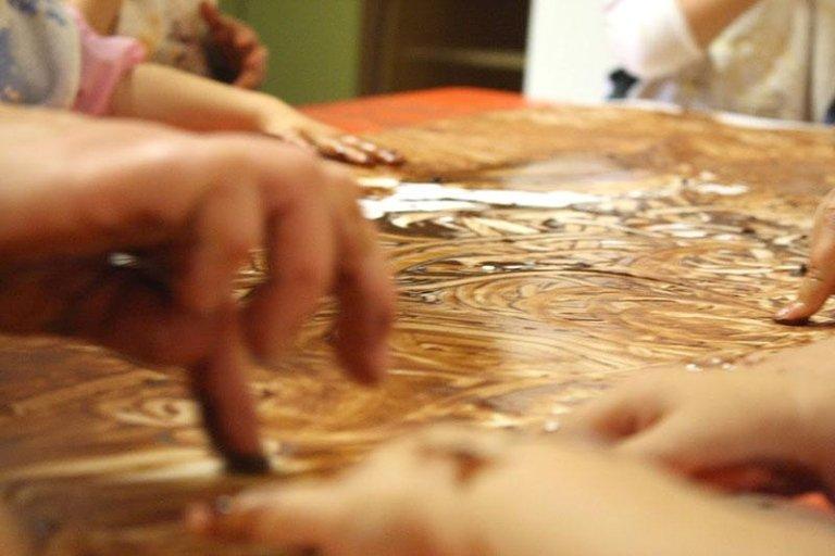 Dipinto di cioccolato