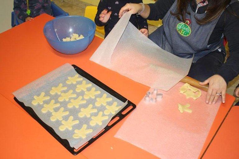 Creazione biscotti