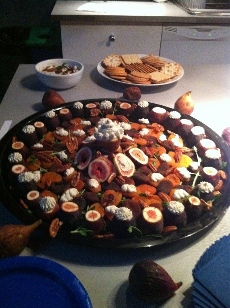 decorated  non-veg platter