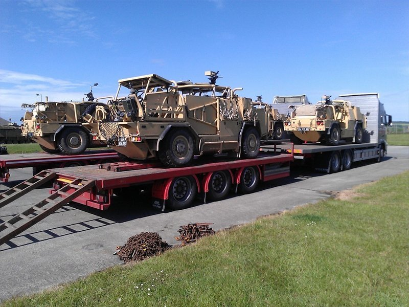 trailer transporting