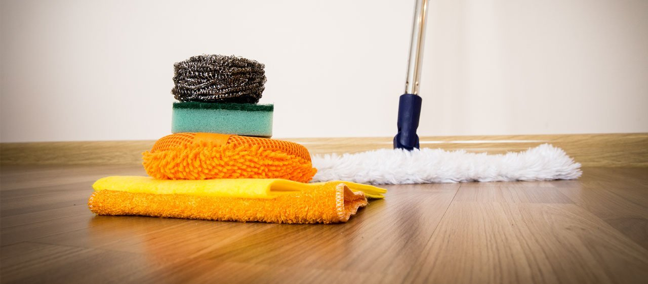 domestic cleaning pictures