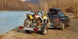 Rimorchio per moto