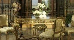arredamento studiato in stile barocco