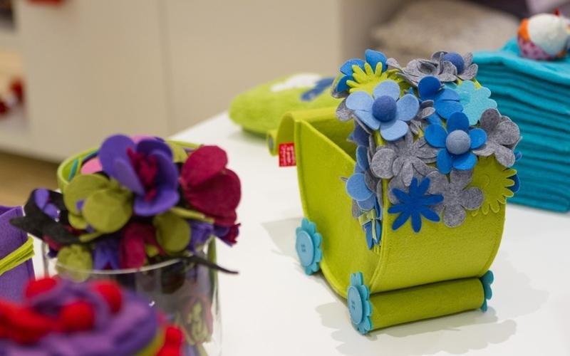 fiori in tessuto