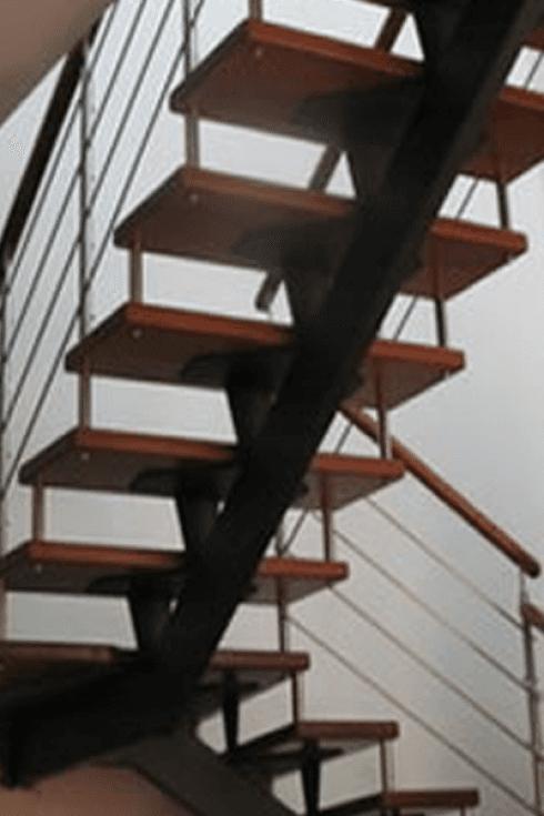 Scale a giorno in acciaio inox