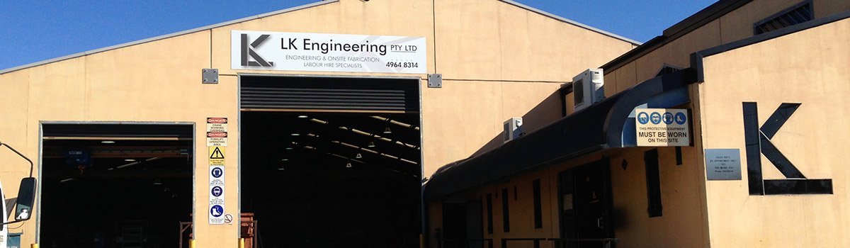 lk engineering experienced steel fabricators