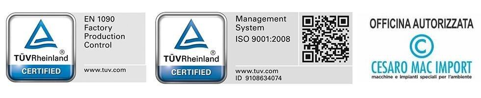 certificazione mac import
