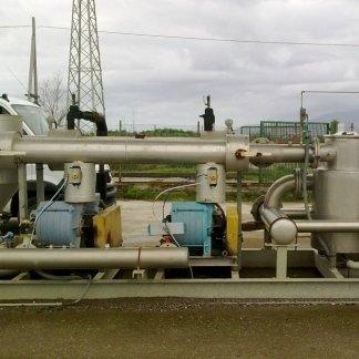 tubature di impianto a biogas