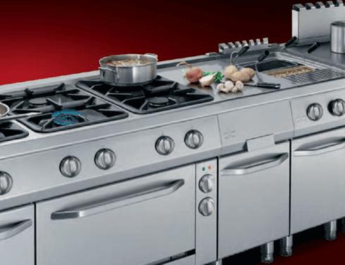 Produzione cucine inox su misura